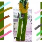 С чем сочетается медовый цвет в одежде, С чем сочетается желто-зеленый цвет в одежде,