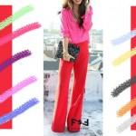 С чем сочетается красный цвет в одежде, С чем сочетается цвет фуксии в одежде,