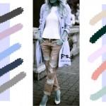 С чем сочетается льдисто-голубой цвет в одежде, с какими цветами сочетаются джинсы
