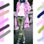 С чем сочетается лавандовый цвет в одежде, с какими цветами сочетаются джинсы
