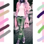 С чем сочетается фламинговый цвет в одежде, с какими цветами сочетаются джинсы