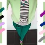 С чем сочетается фисташковый цвет в одежде, С чем сочетается изумрудный цвет в одежде