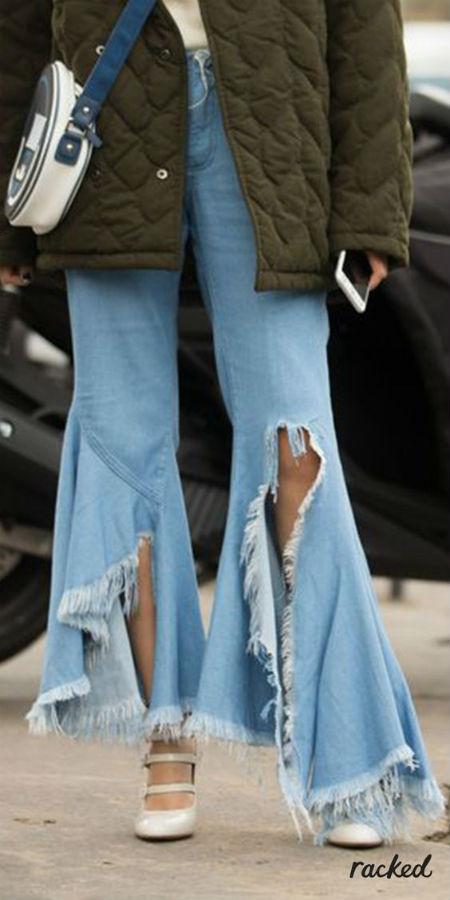 Интересный фасон джинсов