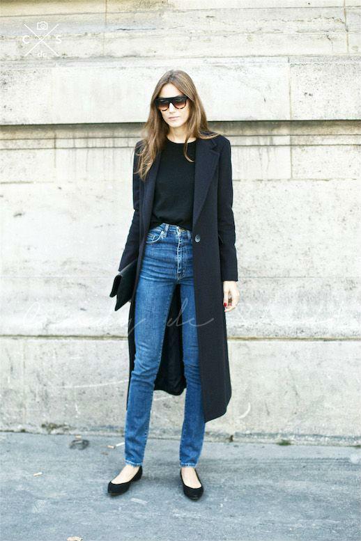 Модный образ с джинсами и кардиганом