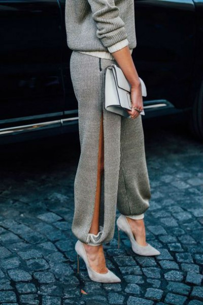 Туфли в классическом образе девушки