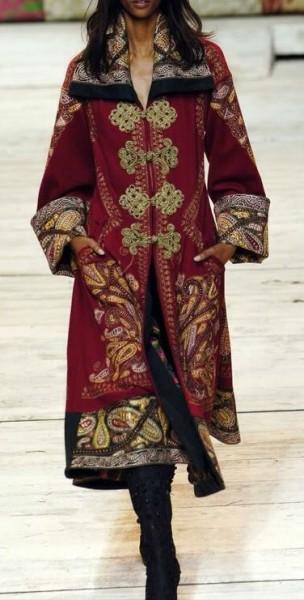 Деревенский стиль в одежде