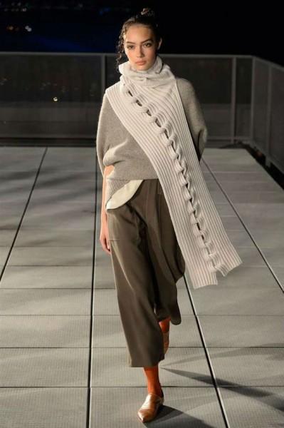 Интересный вариант шарфа