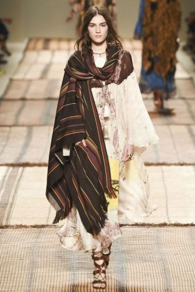 Длинный шарф для женщины