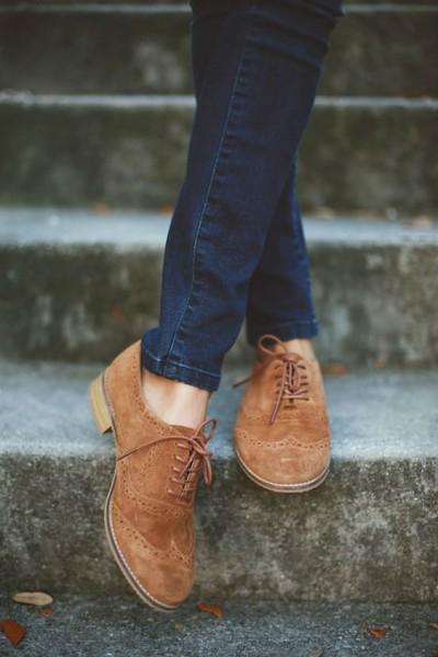 Модная обувь под джинсы