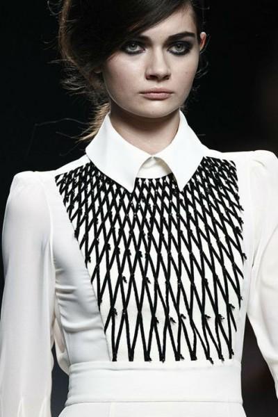 Блузка для типа треугольник