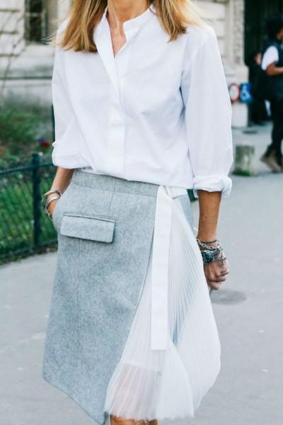 Блуза рубашечного покроя