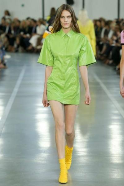 зелень в одежде