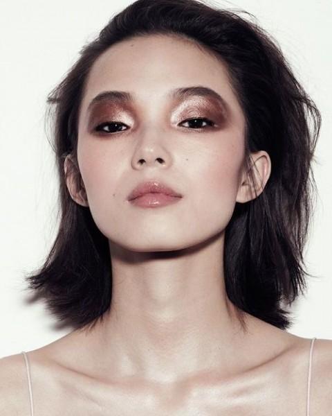 Металлик в макияже
