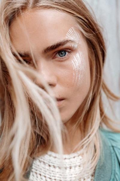 Арт-макияж на лице