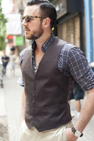 стильный мужской жилет