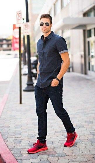 стильные мужские джинсы 2017