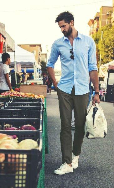 брюки чинос для мужчины