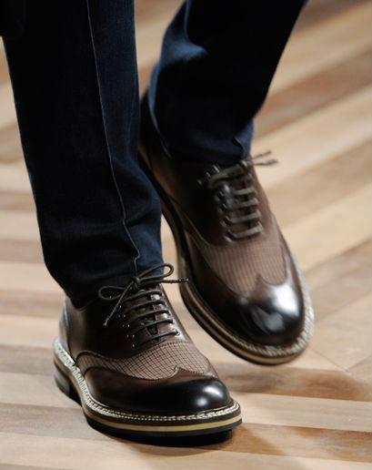 виды классической мужской обуви