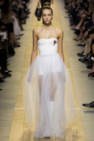 красивые полупрозрачные платья