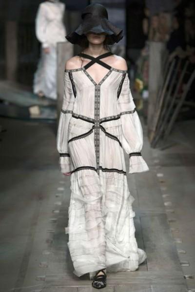 деревенский стиль в одежде для женщин