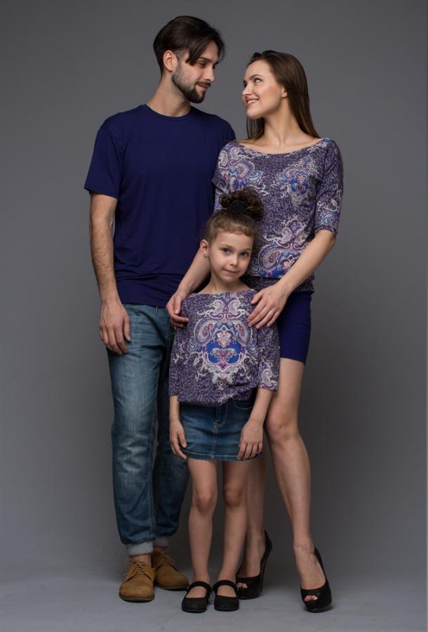 фэмили лук для всей семьи