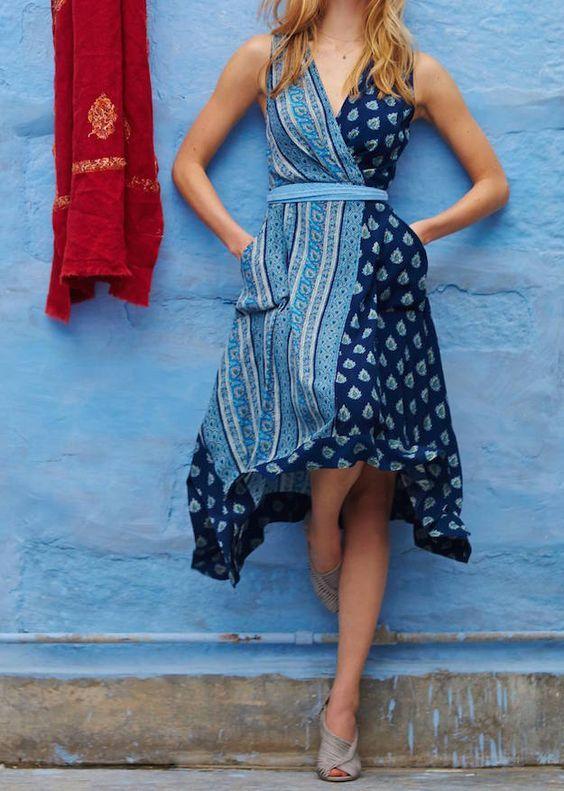 летнее платье для отдыха