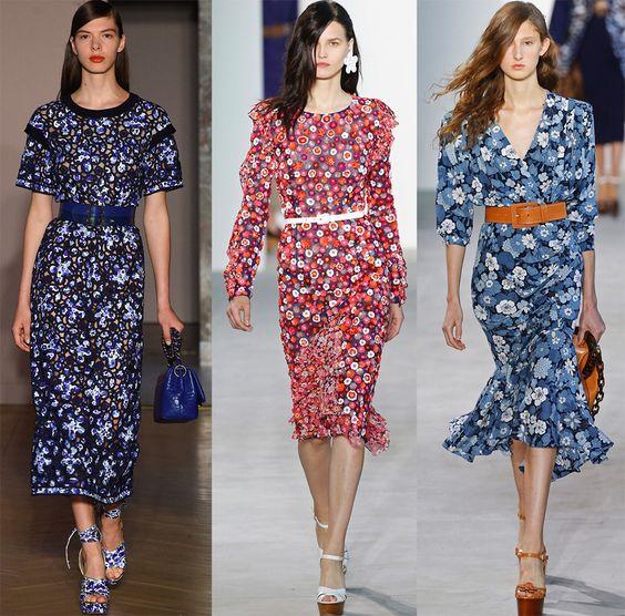 красивые стильные летние платья