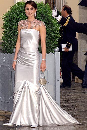 вечернее платье королевы