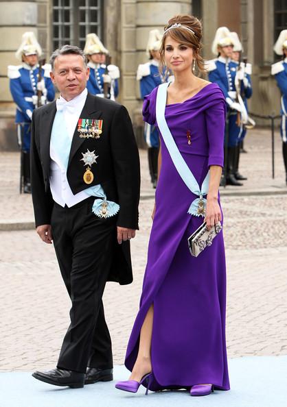 королева рания наряд