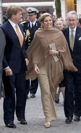 максима королева нидерландов наряды