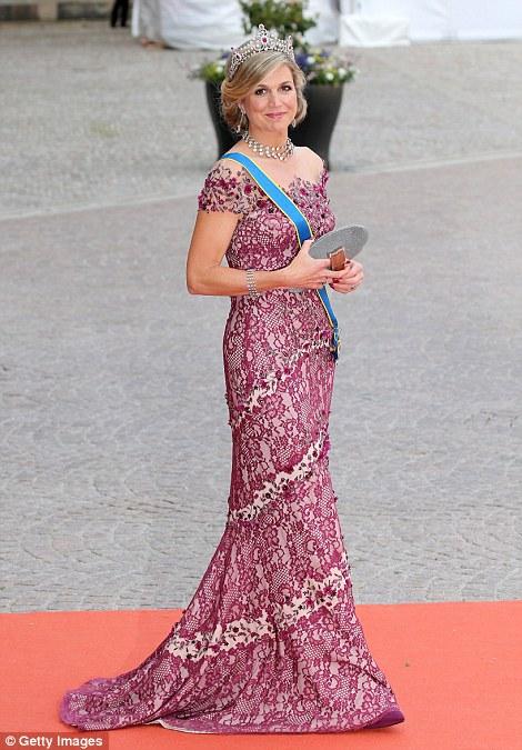 платье королевы Максимы