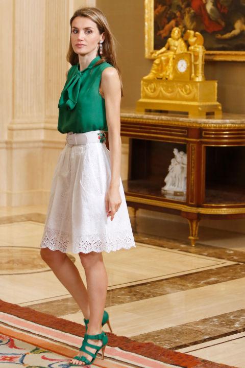 королева Летиция стиль одежды