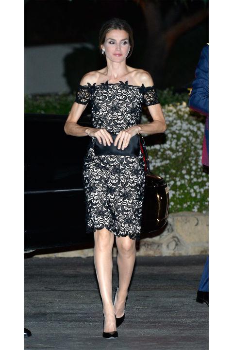 кружевное платье королевы