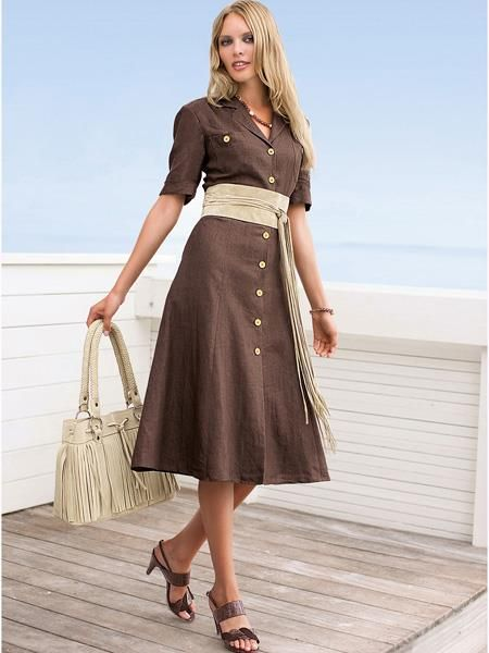 трапециевидные модели платьев