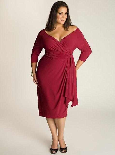 платье для пышной дамы