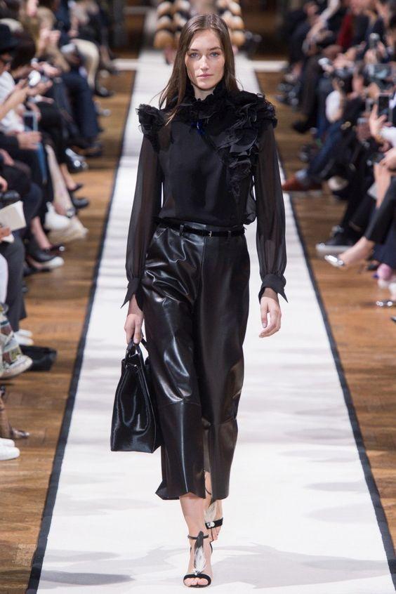 как носить модные вещи на работу