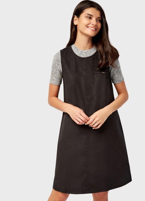 стильное платье без рукавов