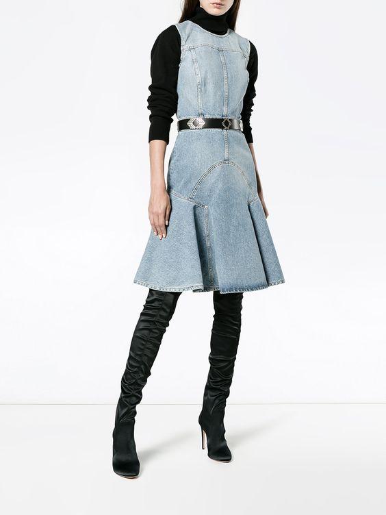 можно ли носить джинсовые платья
