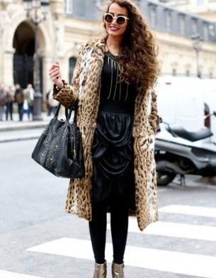 леопардовая верхняя одежда
