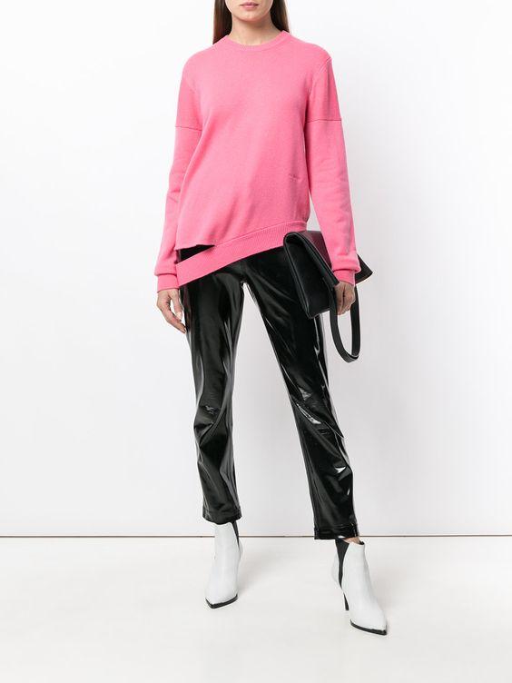 розовый джемпер для девушки