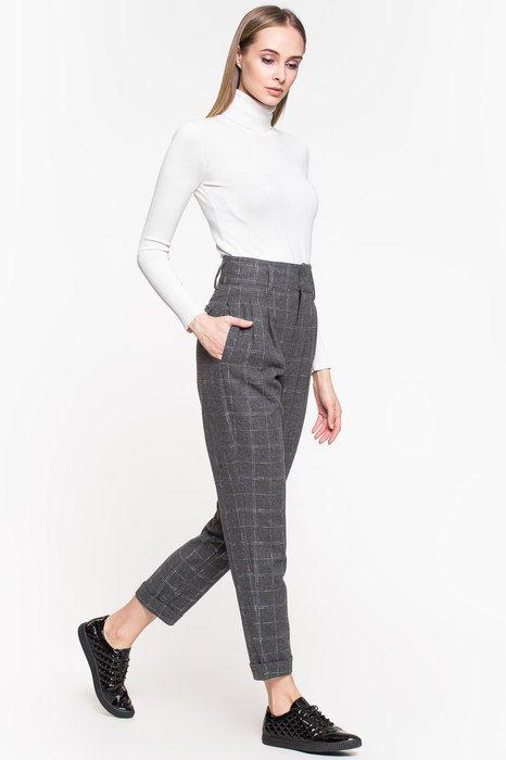 укороченные брюки для девушки